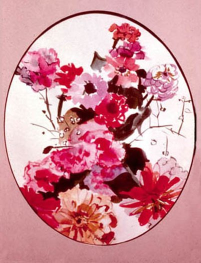 Floral Painting by Francine Porad